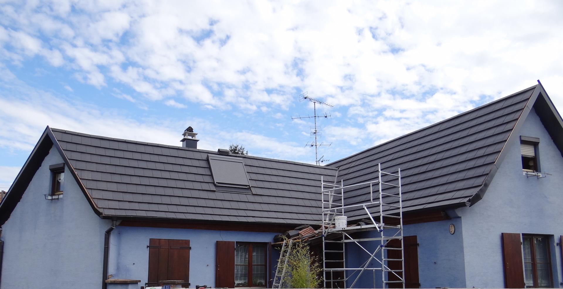D coration couverture toiture 71 tourcoing solution for Tole isolante pour toiture
